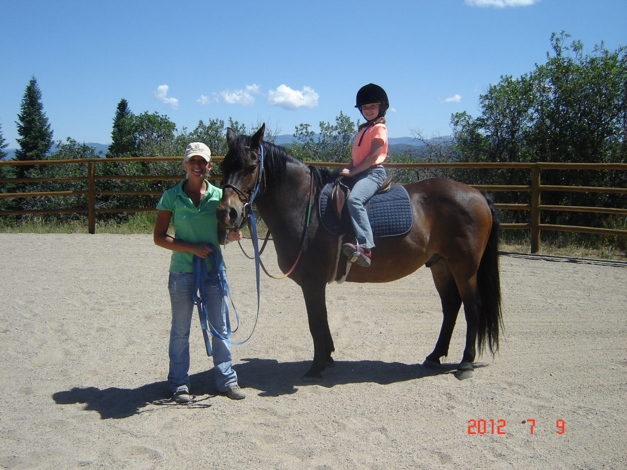 CR Summit Riding Club is hosting its Parks and Recreation Horseback Riding Camp from July 9 to 13. Nine kids are participating along with two instructors, two assistant instructors and two supervisors staffed for the camp. Submitted by: Aileen Sandstedt