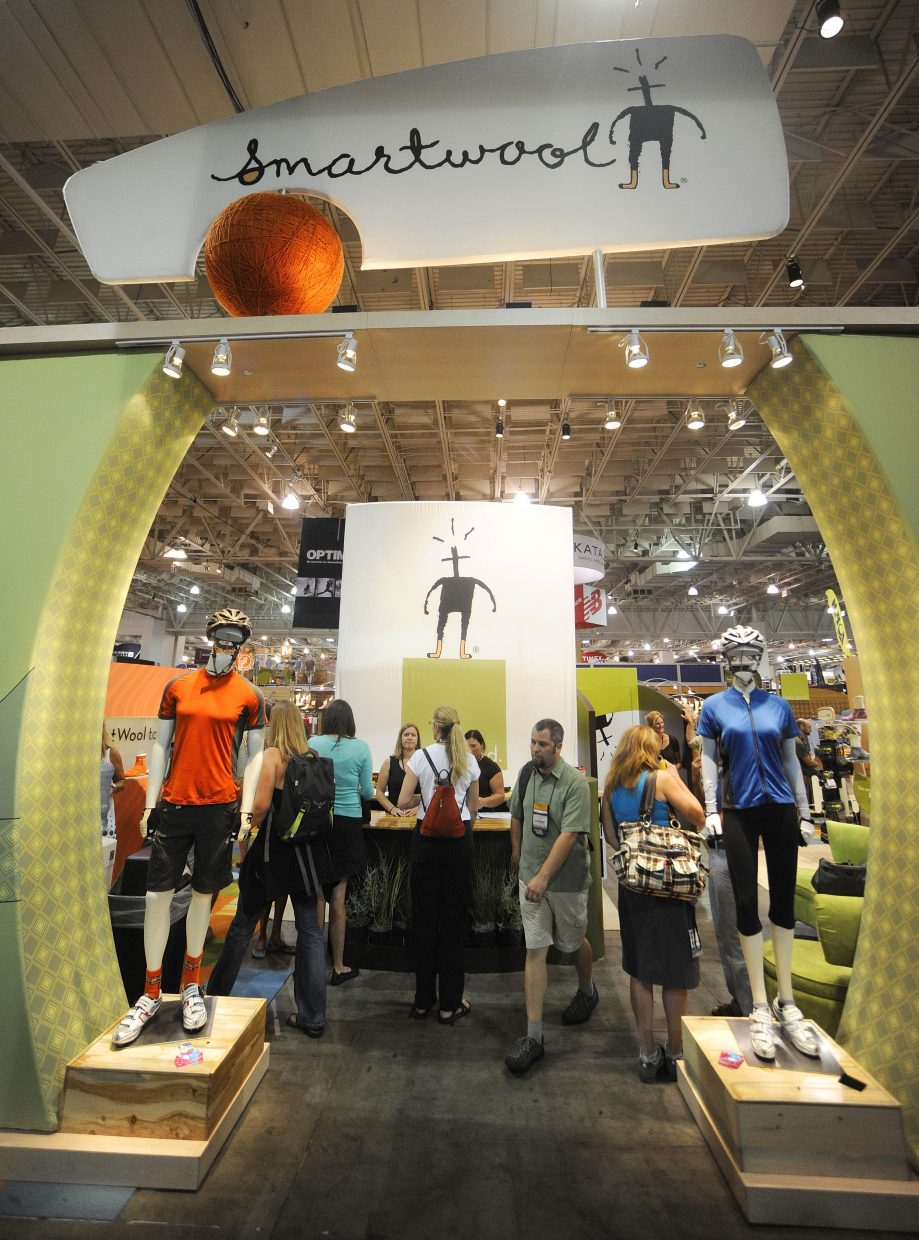 SmartWool hasn't always enjoyed such a commanding presence on the trade show floor, but it's been nothing but up for the company founded in 1994.