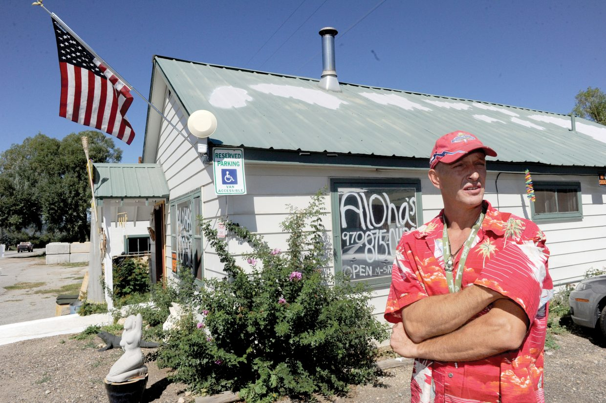 Chris Ward has sold medical marijuana and related products to more than 360 patients at Aloha's in Milner.