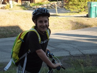 Gabe Aigner's first day of sixth grade. Submitted by: Lauri Aigner