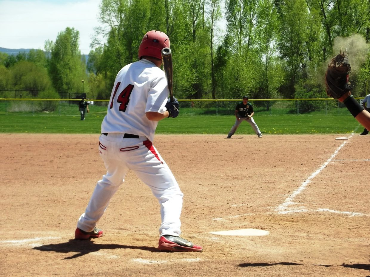 Steamboat Springs Legion baseball home opener at Emerald Fields against Rangely. Steamboat picked up two wins Sunday. Submitted by: Kat Kelly