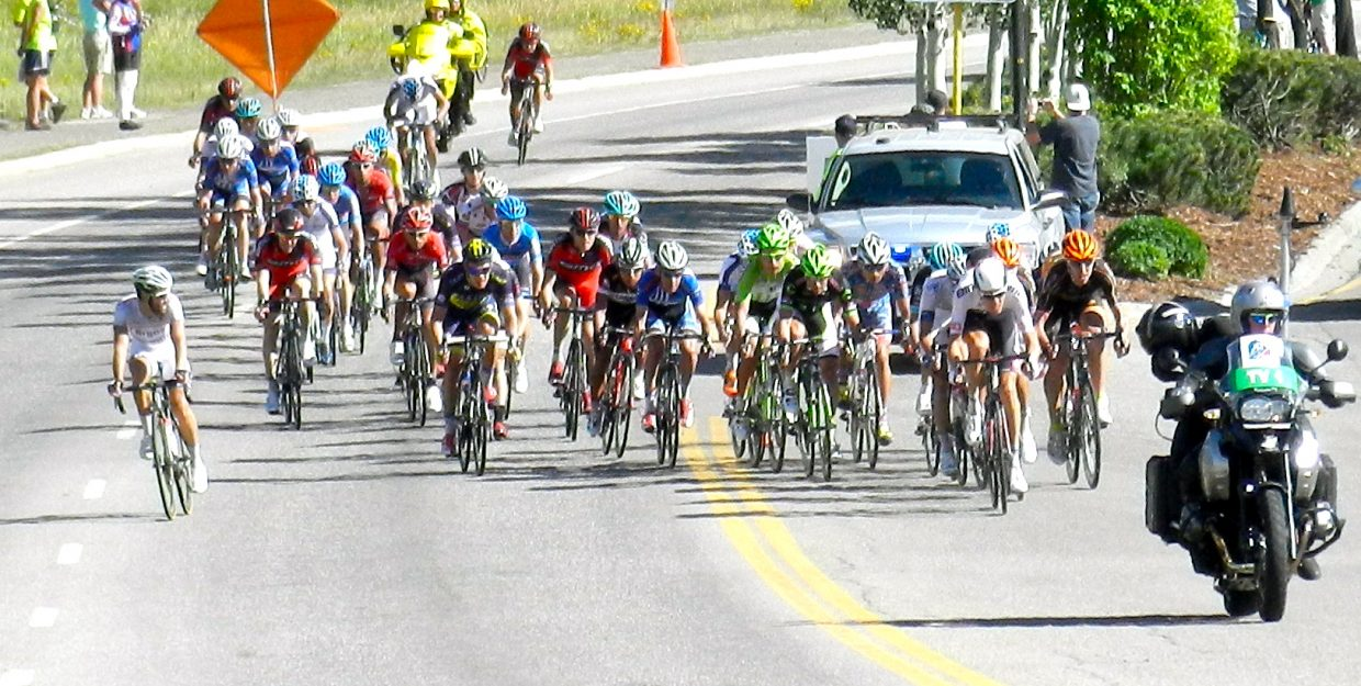 Wednesday's USA Pro Challenge Stage 3 finish. Submitted by: Lisa Haddad