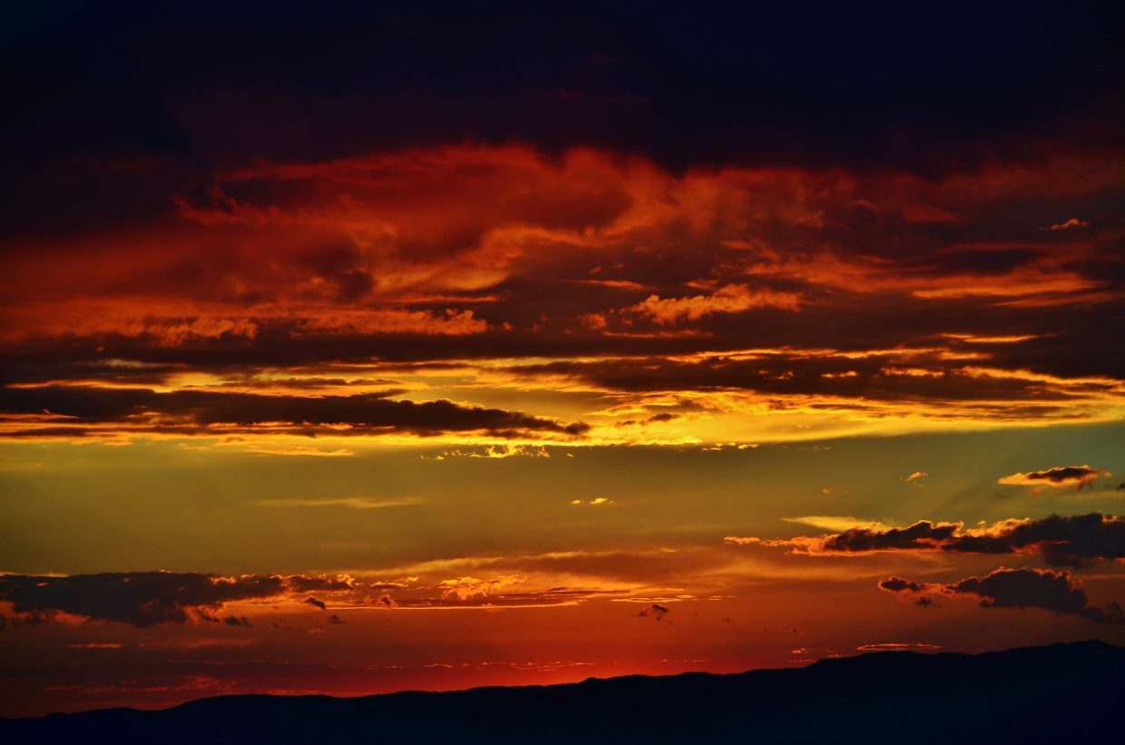 A slice of another spectacular sunset Aug. 23. Submitted by: Rebecca Musso