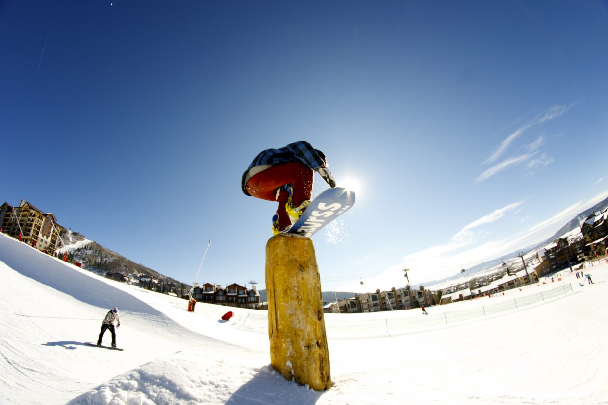 Opening Day at Steamboat Ski Area. Submitted by: Alex Sullivan