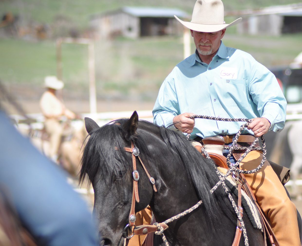 Buck Brannaman clinic in Hayden. Submitted by: Wendy Lind