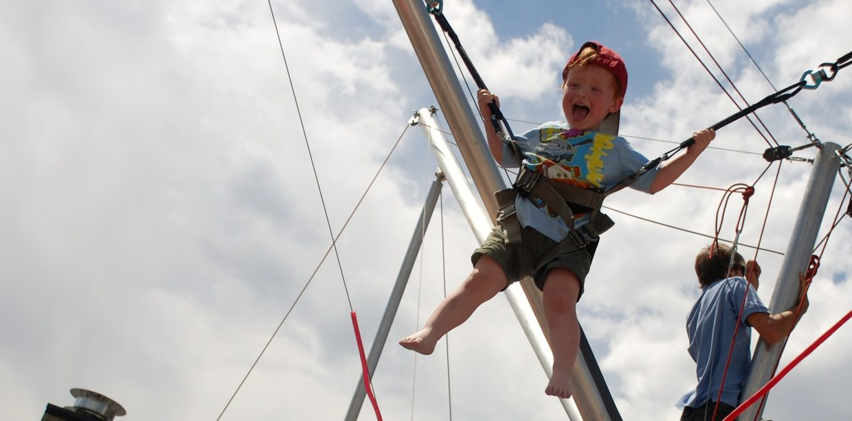 Bungee at the Gondola Adventure Zone. Submitted by: Wendy Harvey