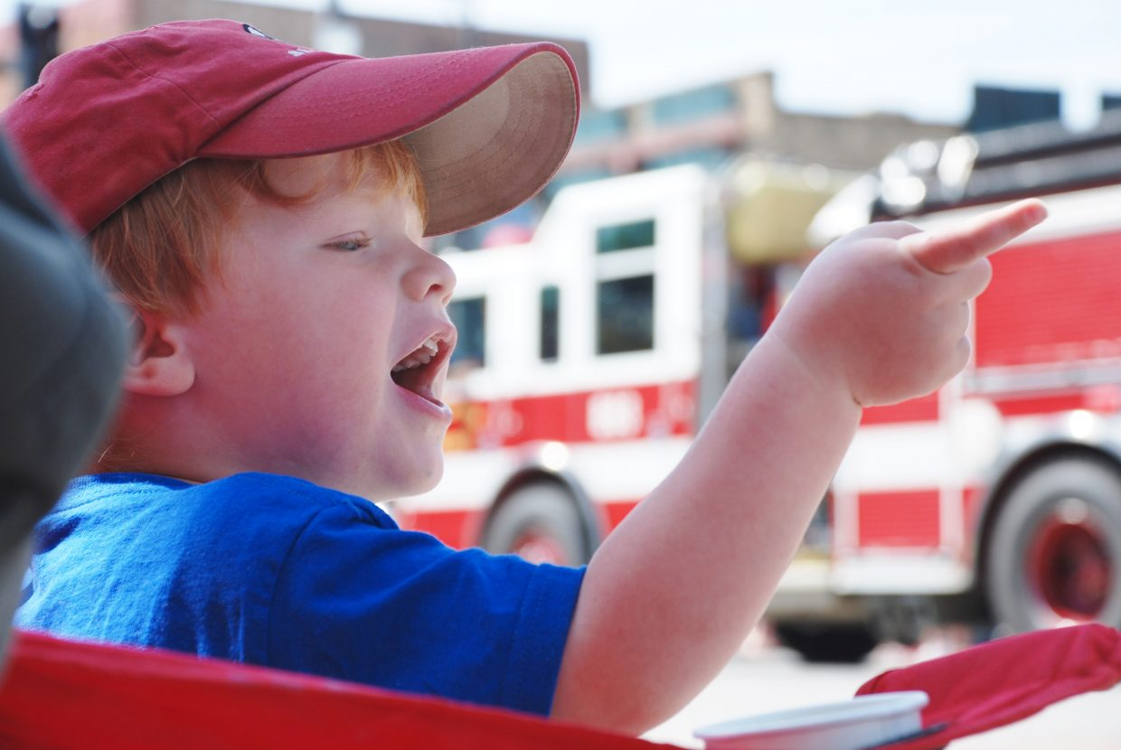 4th of July Parade fun. Submitted by: Wendy Harvey