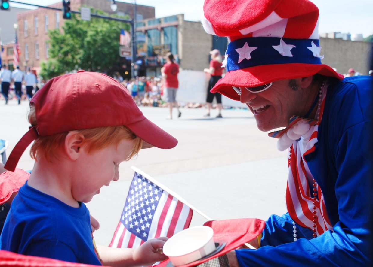 Steamboat Fourth of July parade. Submitted by: Wendy Harvey