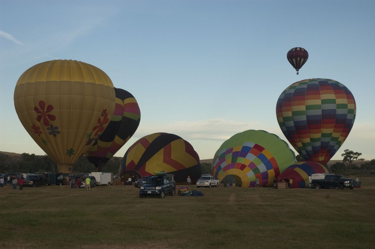Moffat County Hot Air Balloon Festival. Submitted by: David Torgler