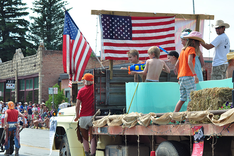 From the Fourth of July parade. Submitted by: Wendy Lind