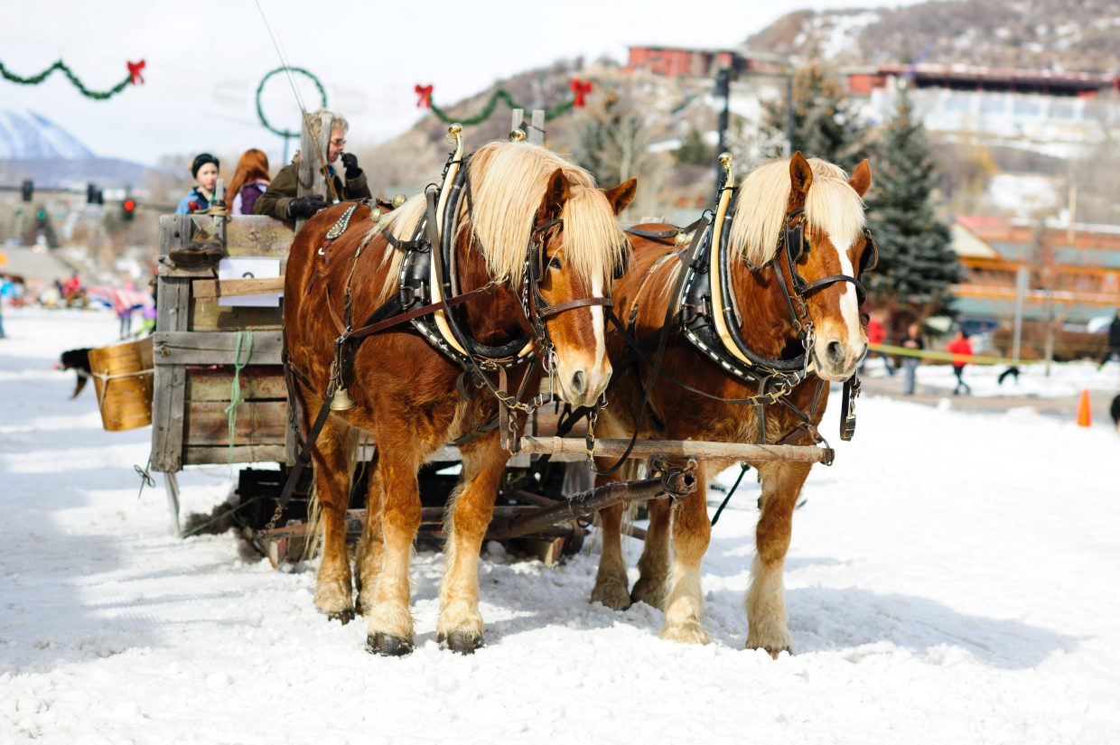 99th annual Winter Carnival parade. Submitted by: Andy Barnhart