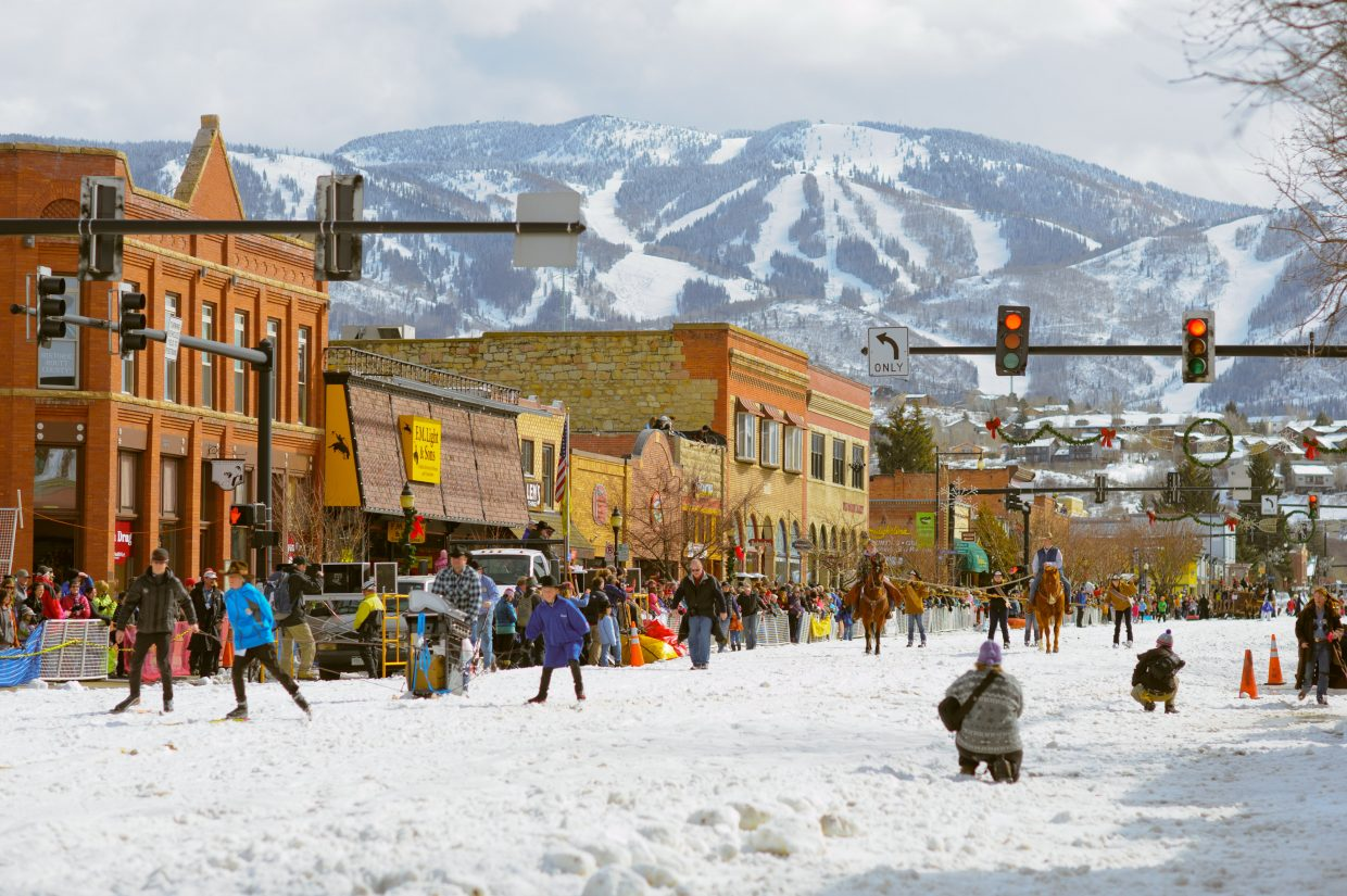 99th annual Winter Carnival parade in downtown Steamboat Springs. Submitted by: Andy Barnhart