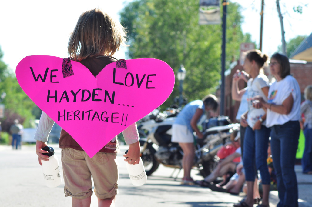 Hayden parade. Submitted by: Wendy Lind