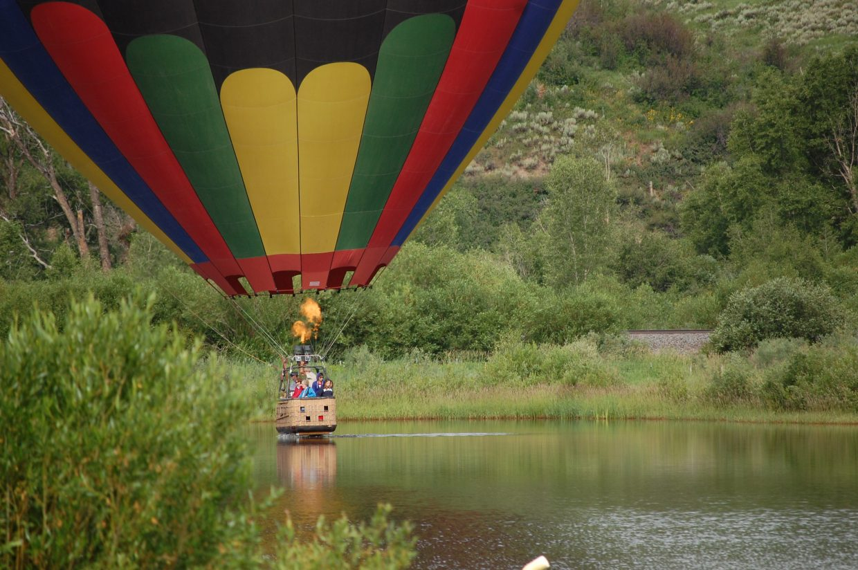 Good things come to those who wait: Weather clears for the Hot Air Balloon Rodeo on Saturday. Submitted by: Jody Cottier Wells