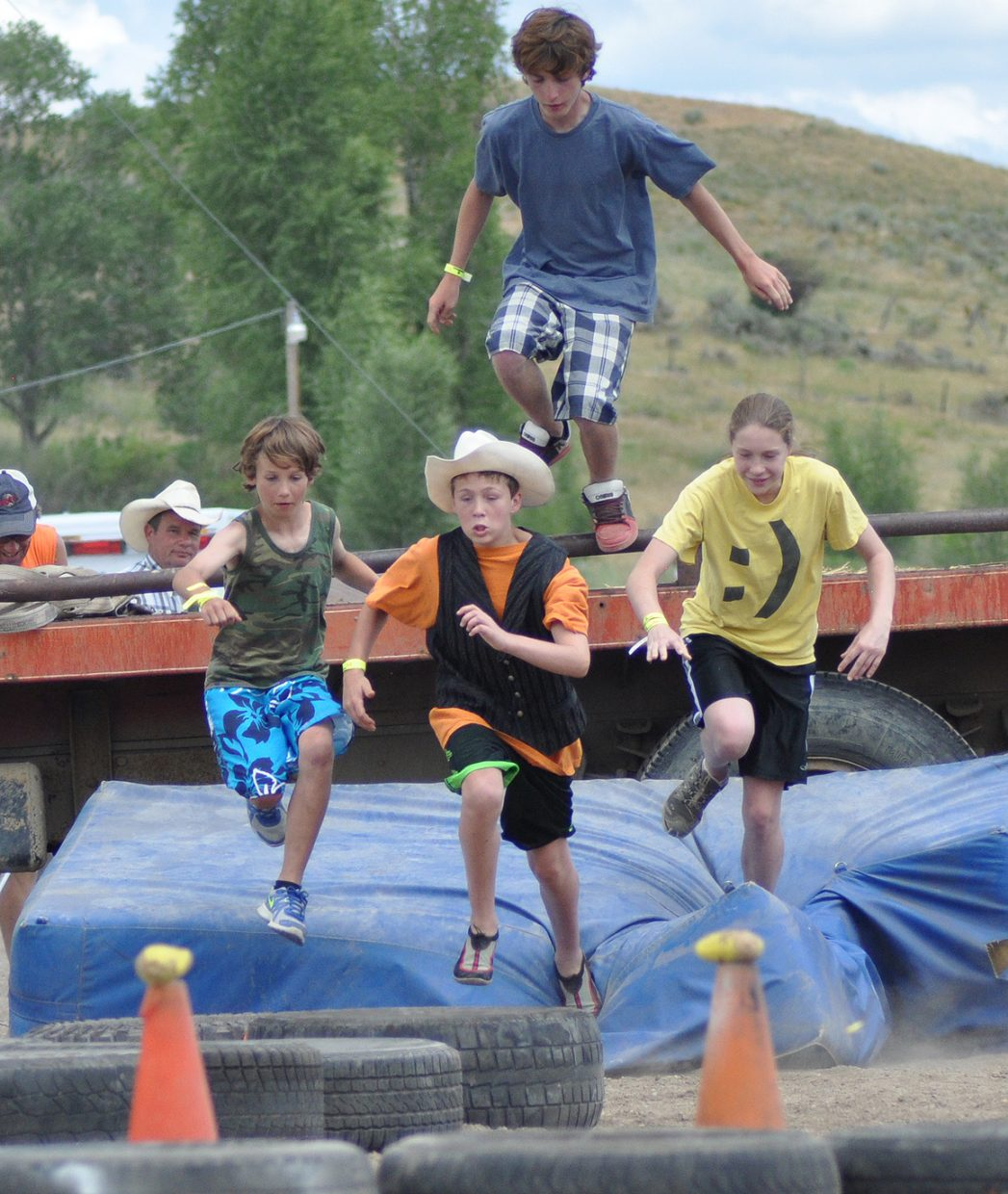2013 Routt County Redneck Olympics. Submitted by: Wendy Lind