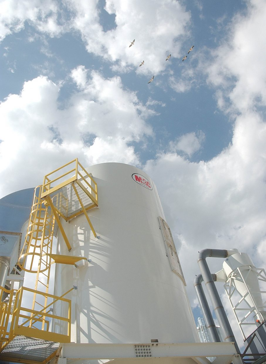 When open, the Rocky Mountain Pellet Co. in Walden will have the ability to produce 150,000 tons of pellets a year.