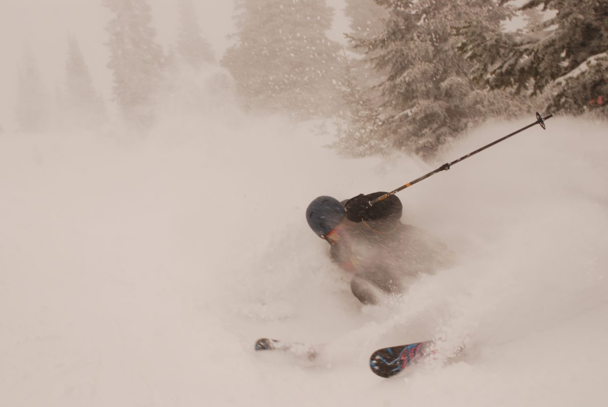 Finally, lost in the powder. Submitted by: Derek Svennungsen