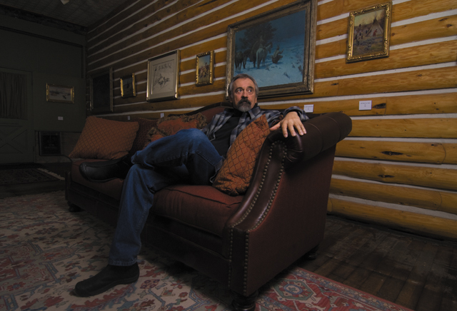 Robert Dieckhoff, board president of Steamboat Art Museum, has devoted a lot of time recently to advancing the local arts community.