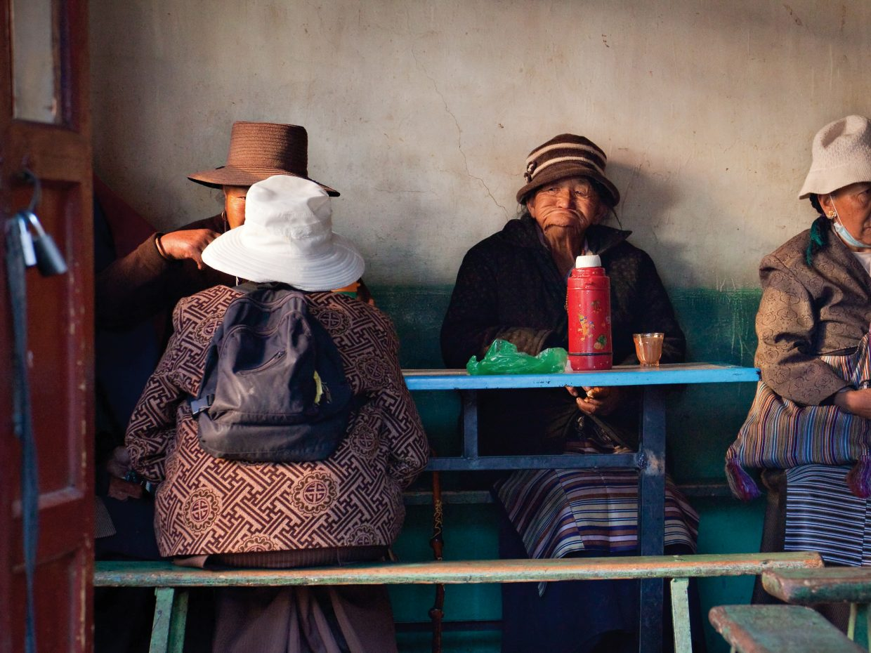 Local photographer Ken Lee took this photo on a fall trip to Tibet and Cambodia. The image is featured in a collection of new work at Lee's Gallery 11.
