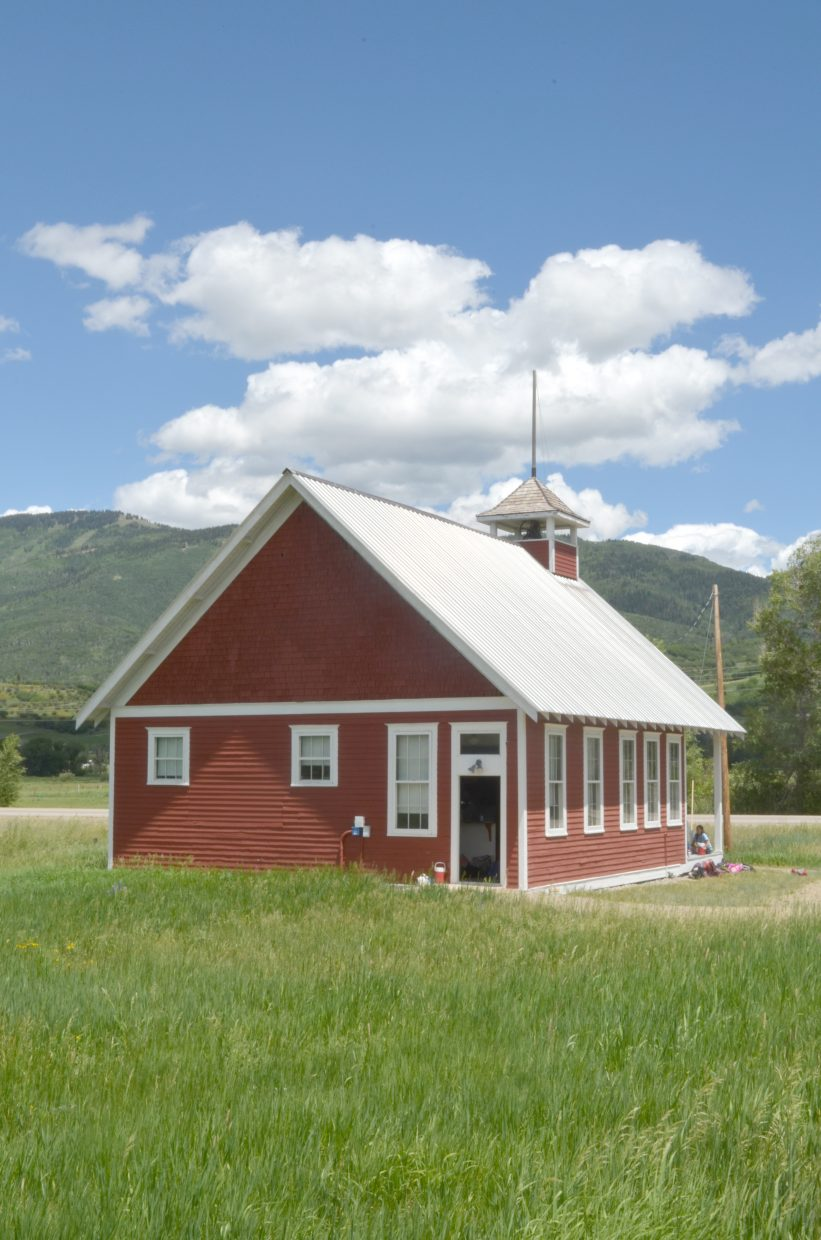 The Mesa Schoolhouse, 7 miles south of Steamboat Springs, was added to the National Register of Historic Places in 2007.