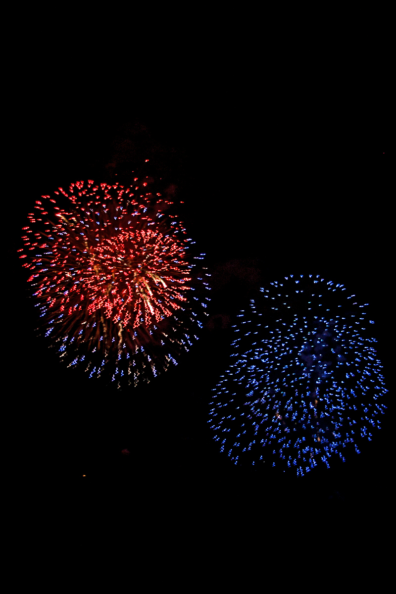 Fourth of July fireworks in Steamboat. Submitted by: G Frederic Reynolds