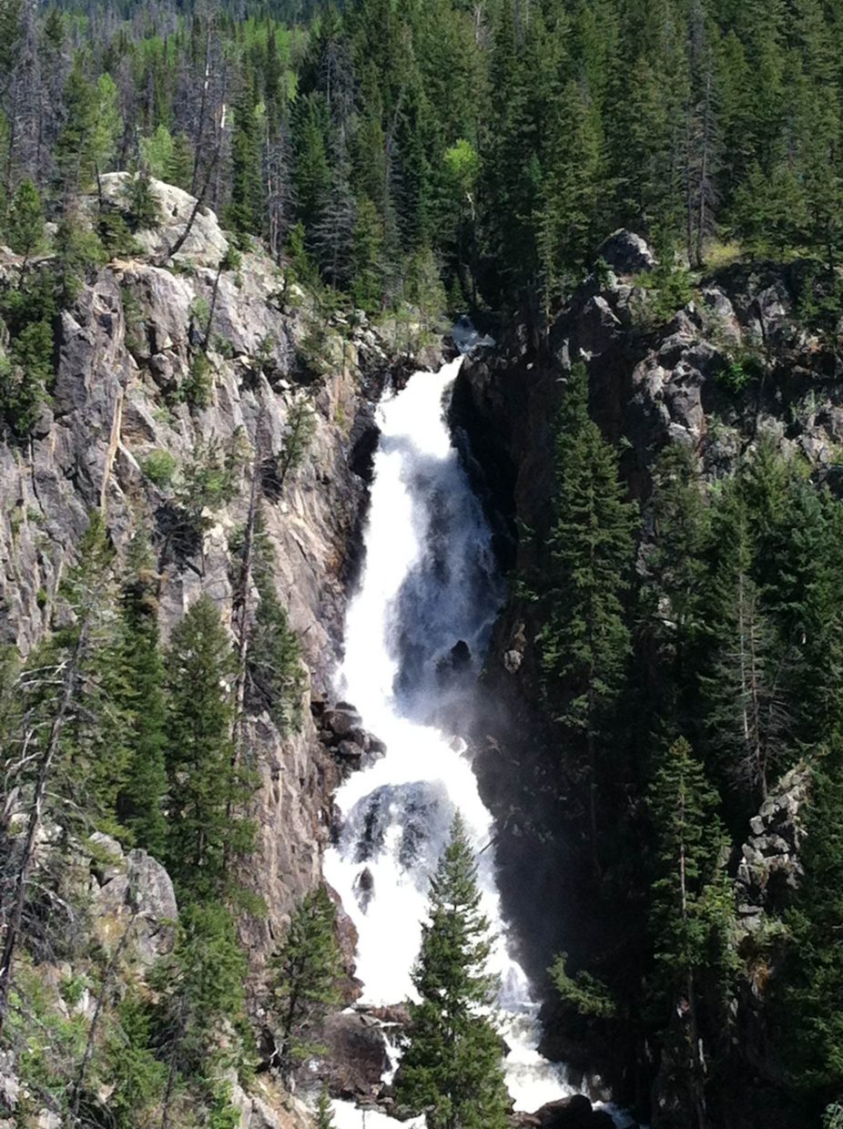 Fish Creek Falls. Submitted by: Kim Geddes