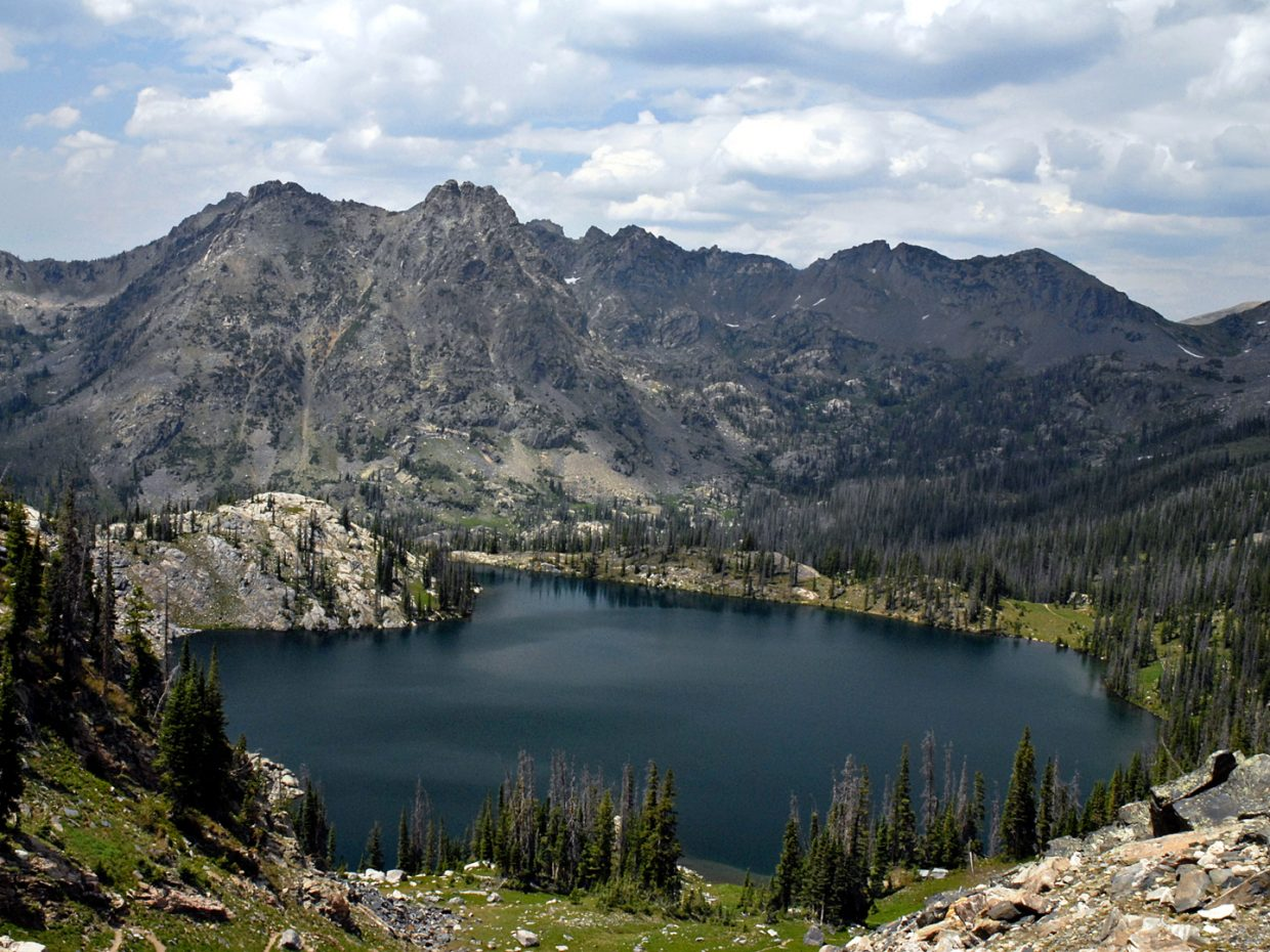 Gilpin Lake, Mount Zirkel Wilderness. Submitted by: Jeff Hall