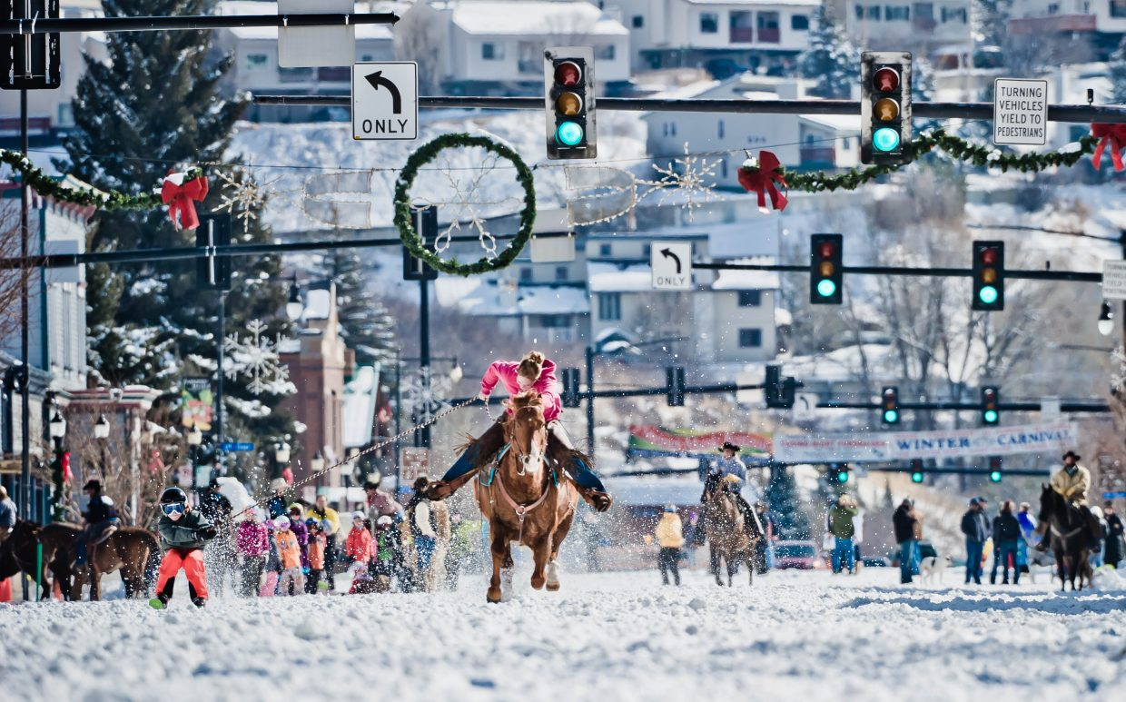 99th annual Winter Carnival street events. Submitted by: Susannah Blundell