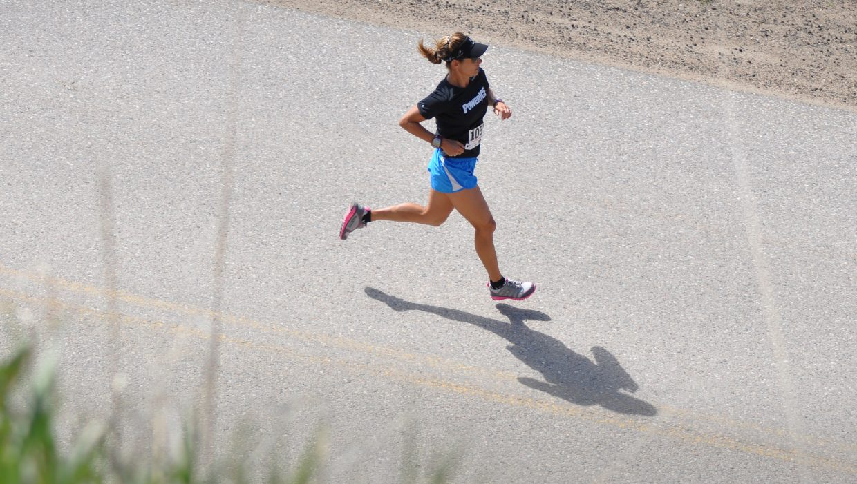 Heather Gollnick at the Hayden Cog Run. Submitted by: Wendy Lind