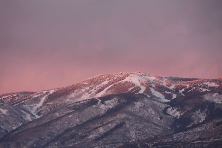 Sunset from Henderson Park in South Routt. Submitted by: Andy Kennedy