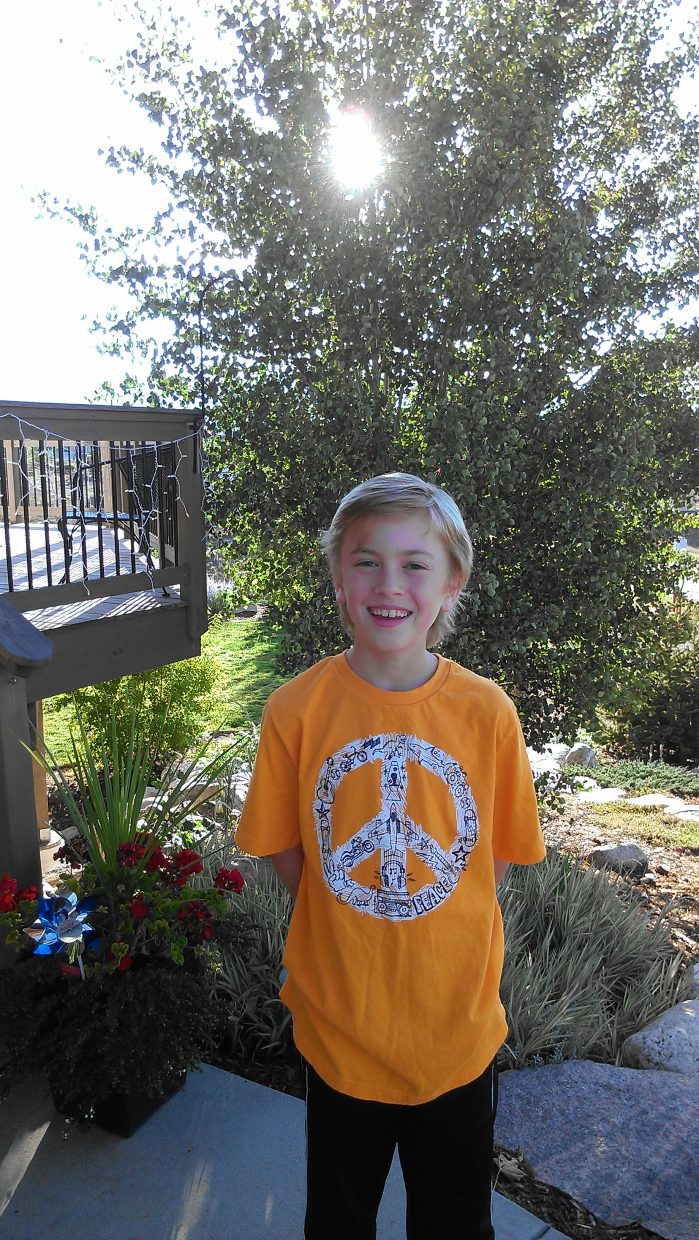 Jackson Lewer, first day of fourth grade, Soda Creek Elementary. Submitted by: Karen Lewer