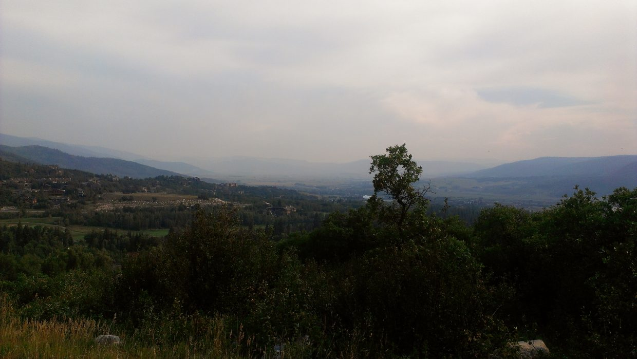 Where's the fire? From Boulder Ridge Road on Friday. Submitted by: Sam Daniels