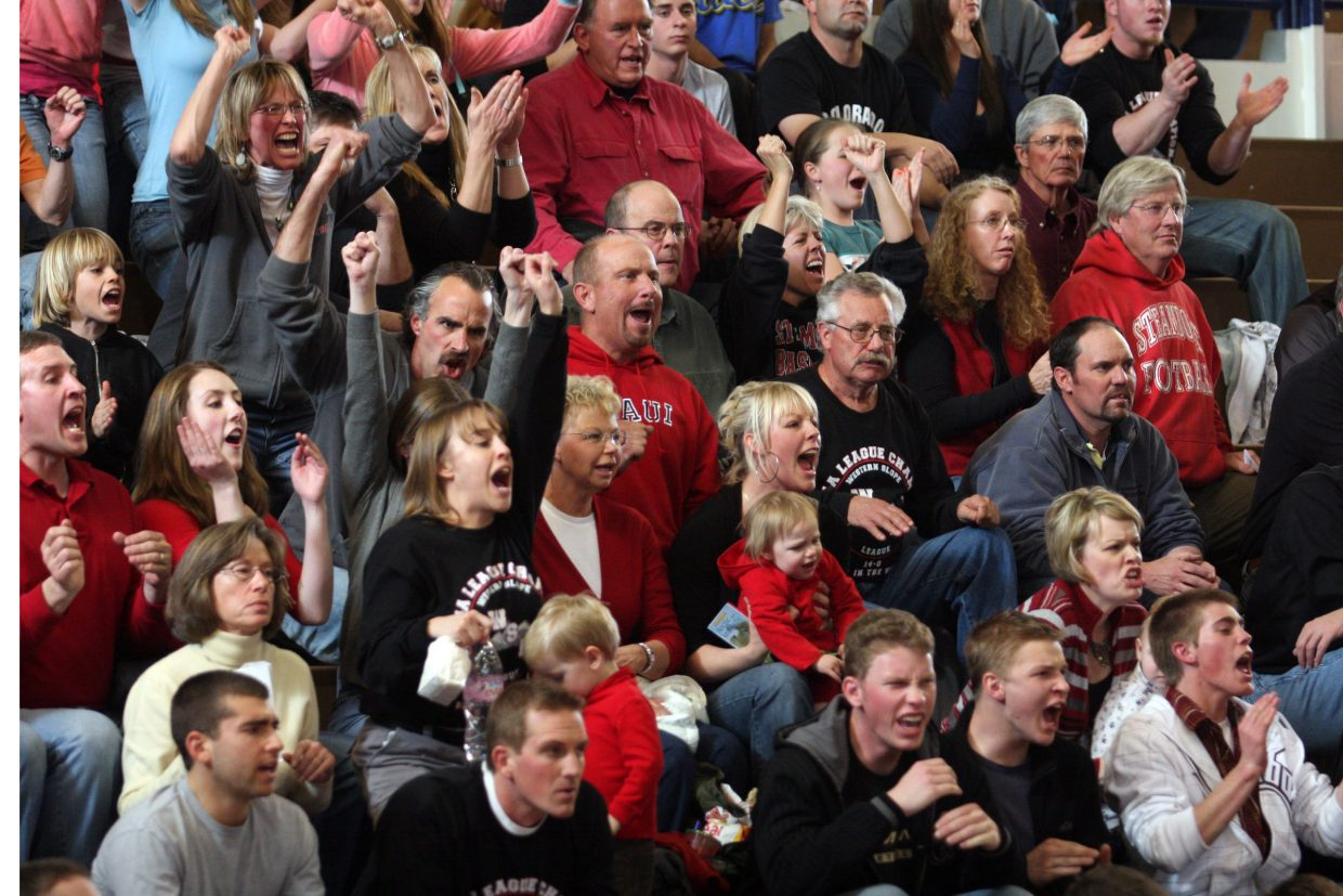 The crowd of Steamboat fans was vocal, but the Sailors fell to the Pueblo West Cyclones, 67-61, in the Sweet 16 round at Widefield High School.