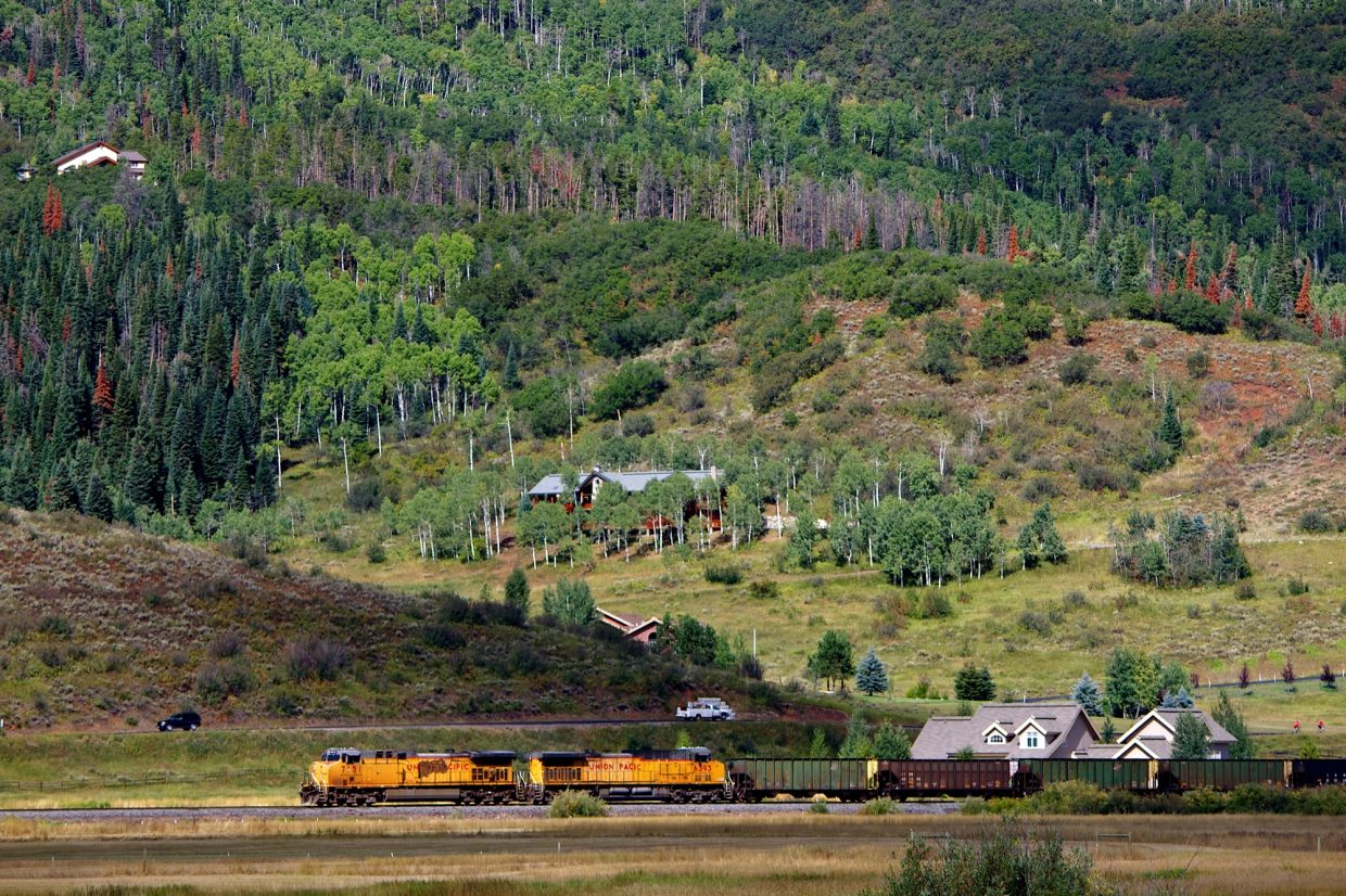 Train going through Steamboat. Submitted by: Ryan Lohan