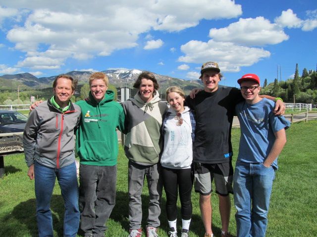 City Council President Bart Kounovsky recognized the Steamboat Springs Teen Council seniors for their service to the Steamboat Springs community at their End of the Year Celebration. Pictured Left to Right: Bart Kounovsky, Sam Samlowski, Logan Banning, Codi Coghlan, Penn Lukens, Kent Barron. Not pictured: Annie Ochs. Submitted by: Kate Elkins