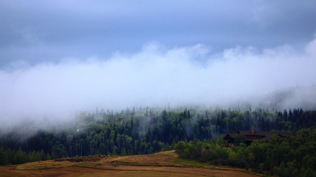 Early morning fog. Submitted by: Ryan Lohan