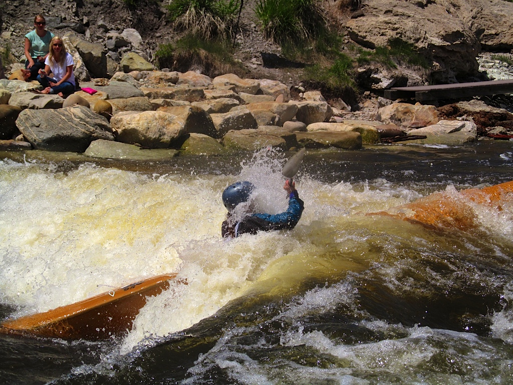 Betsy Frick at the Yampa River Festival. Submitted by: Ryan Lohan