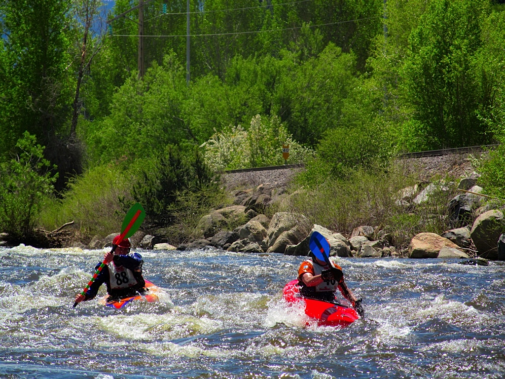 Ryan Berger and Adam Mayo at the Yampa River Festival. Submitted by: Ryan Lohan
