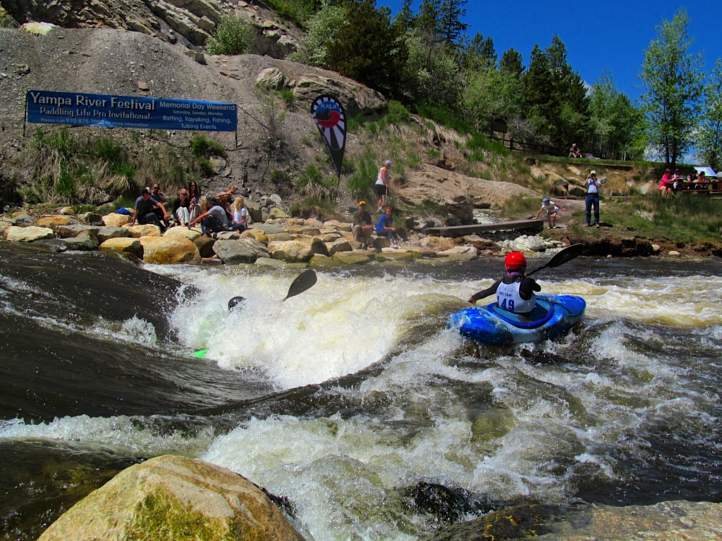 Mike Doyle and Eva Luna at the Yampa River Festival. Submitted by: Ryan Lohan