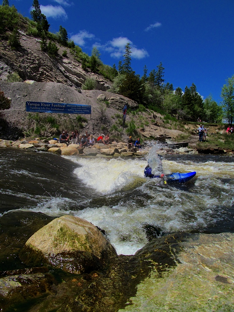 Mark Billerbeck at the Yampa River Festival. Submitted by: Ryan Lohan