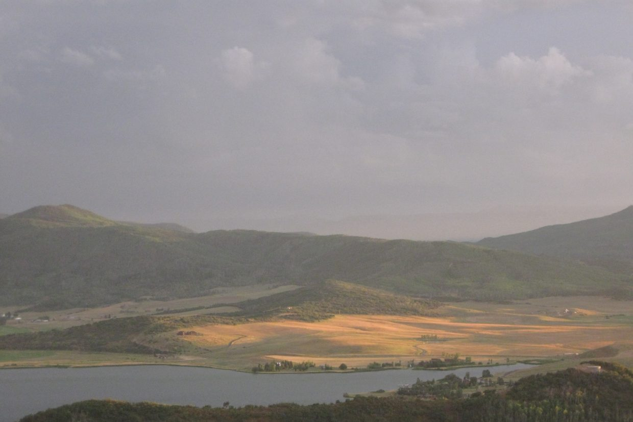 Lake Catamount from Rabbit Ears Pass. Submitted by: Chris Antonio