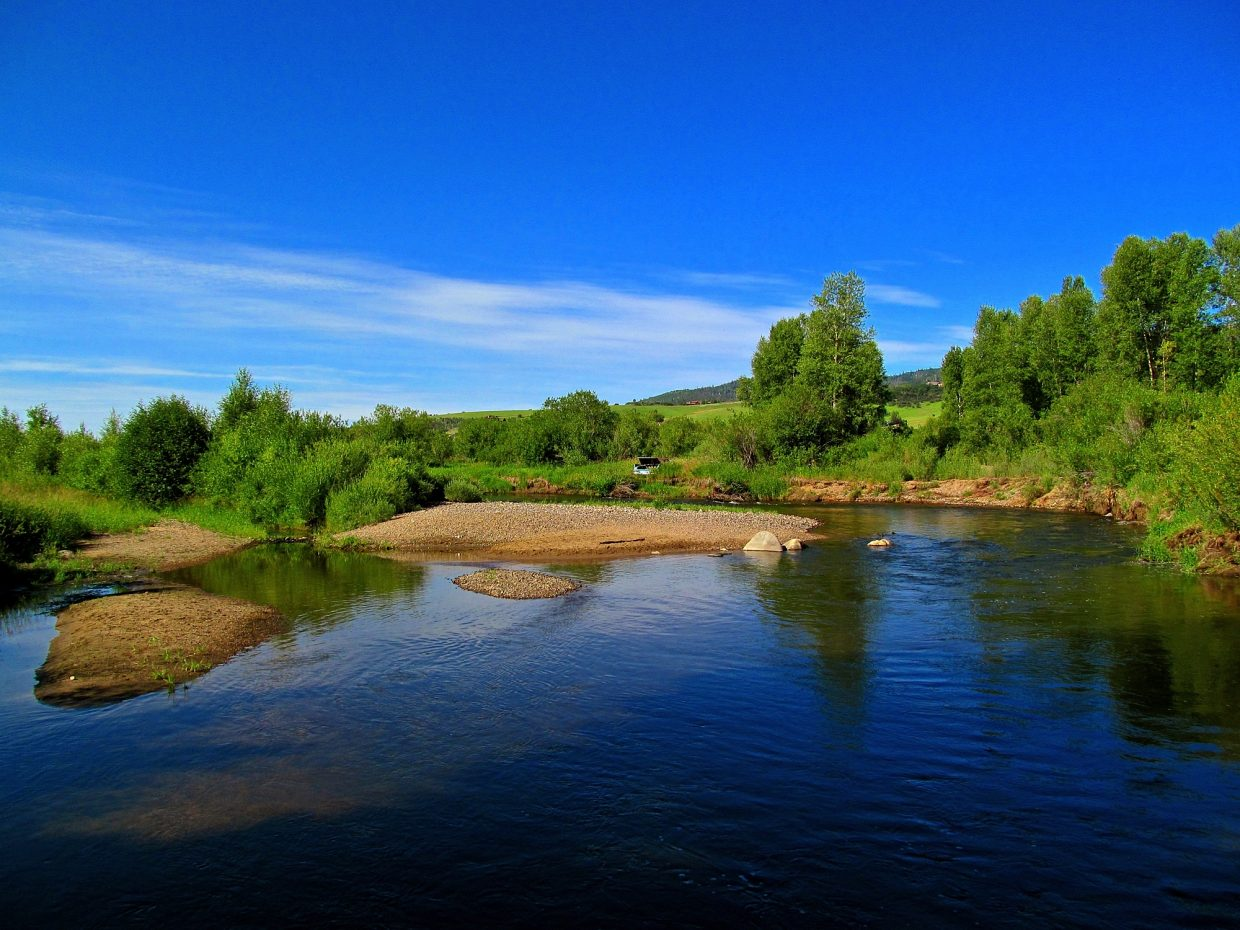 Beaches on the Yampa. Submitted by: Ryan Lohan