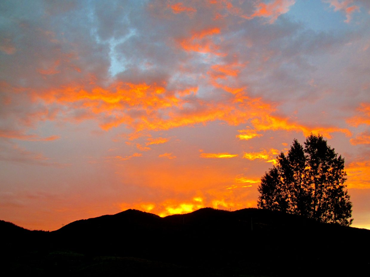 Fire in the sky. Submitted by: Ryan Lohan