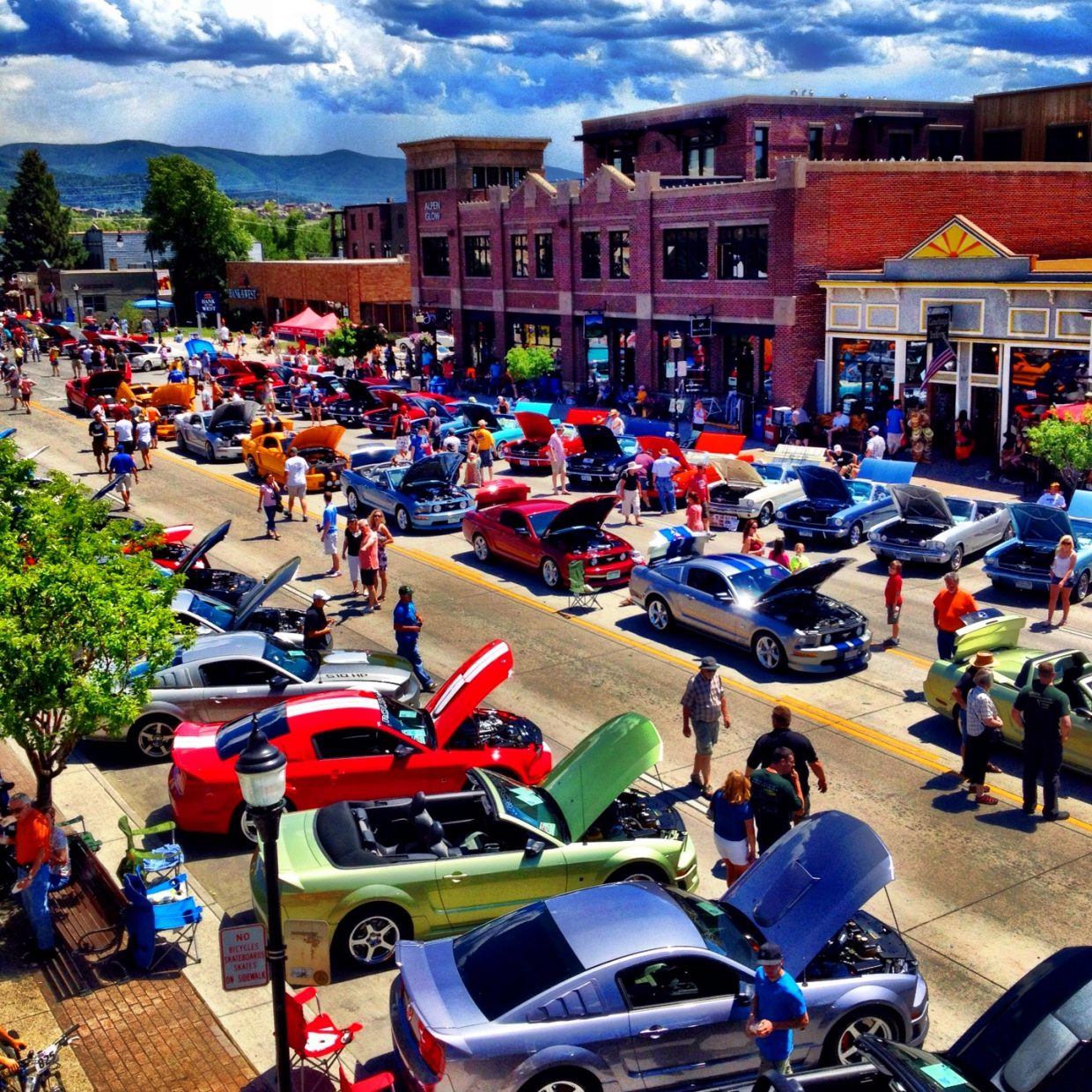 Mustang Rally! Submitted by: Trace Adams