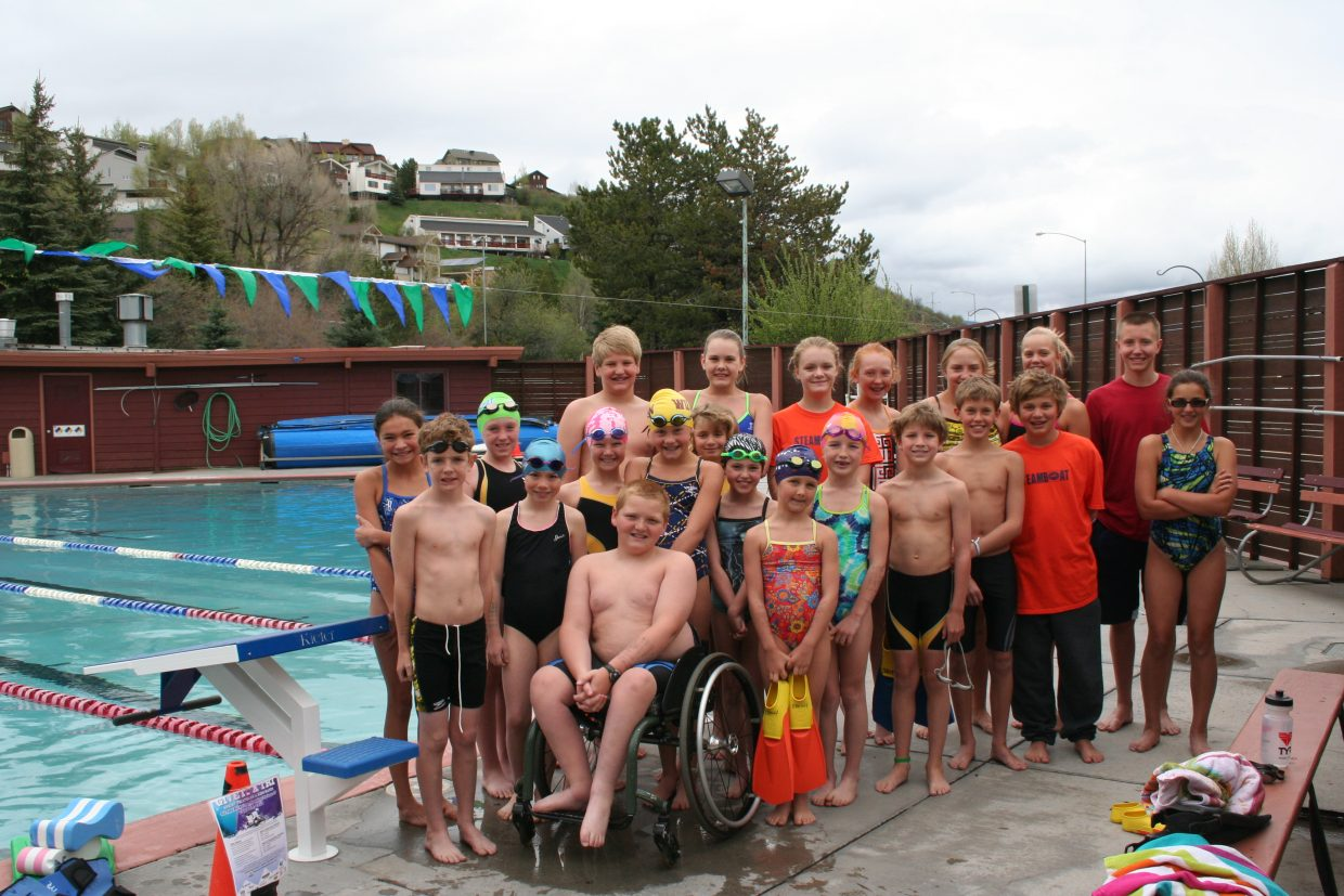 Members of the Steamboat Springs Swim Team returned from Glenwood Springs, where the team finished third overall.