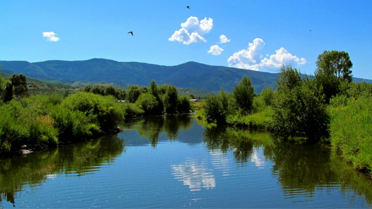 Beautiful day on the Yampa. Submitted by: Ryan Lohan