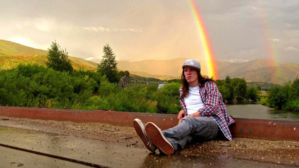 Mike relaxing on the Yampa River on Wednesday. Submitted by: Ryan Lohan
