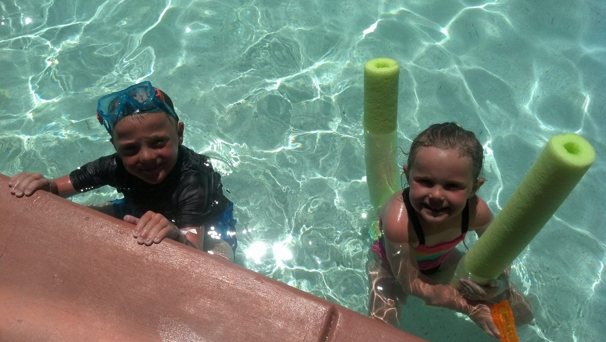 A day at the pool with Tanner and Jenna Wheeler! Submitted by: Diana Wheeler