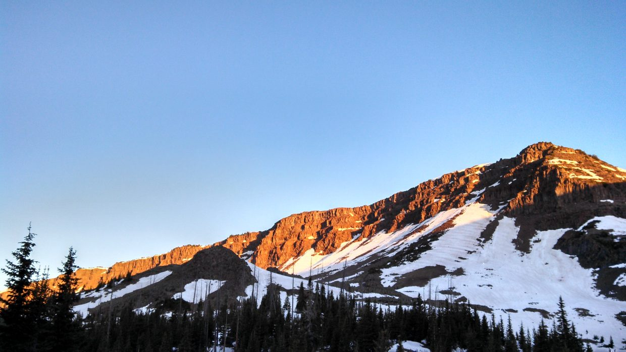Dawn in the Flat Tops. Submitted by: Matt Wood