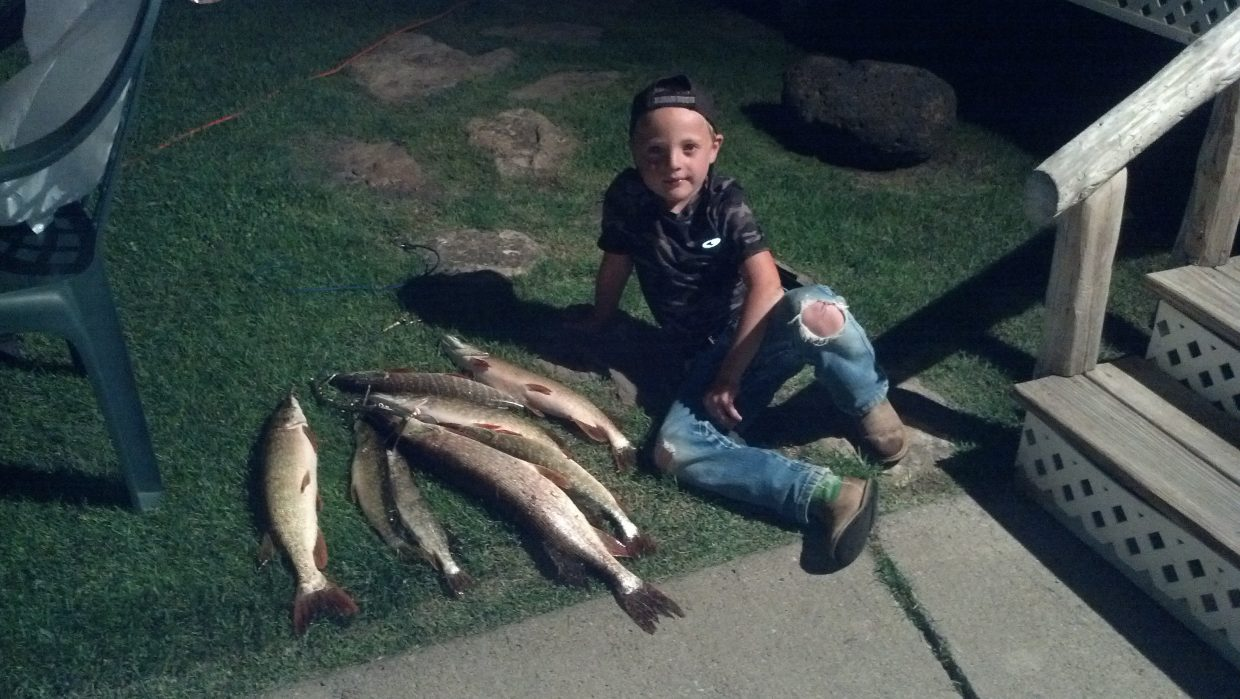 Tanner Wheeler. This was taken after fishing at Stagecoach.Submitted by: Diana Wheeler